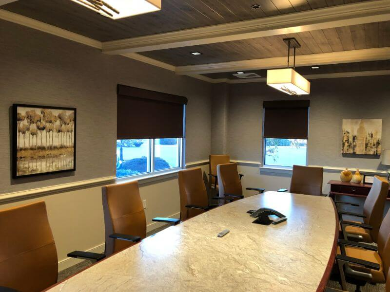Conference Room Roller Shades